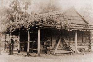 Harry's hut around 1940