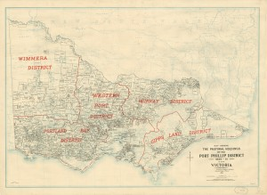Pastoral Holdings, Victoria 1835-1851