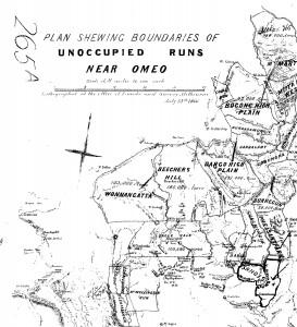 Unoccupied Runs 1866